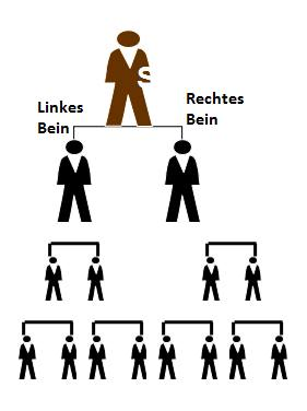 Binäres System Network Marketing